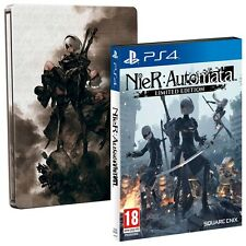 NieR: Automata - Limited Edition SteelBook [PlayStation 4 PS4, DLC, Action RPG]