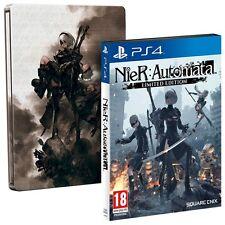 NieR: Automata - Limited Edition SteelBook [PlayStation 4 PS4, Region Free, RPG]