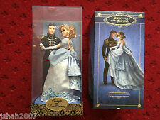 NEW DISNEY FAIRYTALE DESIGNER COLLECTION CINDERELLA AND PRINCE CHARMING DOLL SET