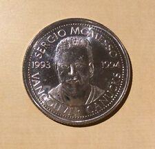 Vancouver Canucks Sergio Momesso Coin Collection 1993 - 1994 Medallion