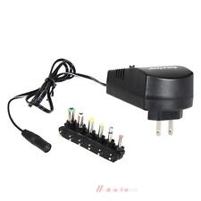 Universal AC DC Adapter Converter 6 Plugs 3 4.5 6 7.5 9 2.5A 12V Power Charger