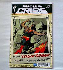 DC ComicsHeroes in Crisis Ryan Sook's Variant Covers SET 1-9