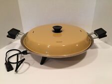 Vintage Mirro Watta Pizzaria Electric Pizza Maker Baker Oven Tiny House Camping