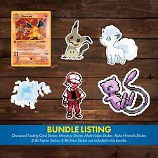 Pokemon Decal/Sticker Bundle (Customer Request)