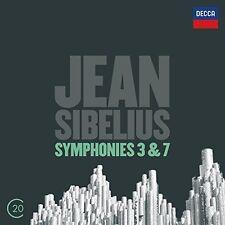 Colin Davis / Boston - Sibelius: Sym 3 6 & 7 [New CD] UK - Imp