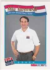 MIKE KRZYZEWSKI Duke Blue Devils COACH K Basketball Card DREAM TEAM Olympics USA
