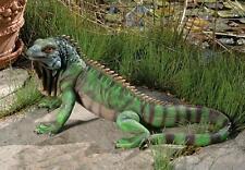 Lawn Garden Decor Animal Statue Iggy the Iguana Figure Sculpture Patio Outdoor
