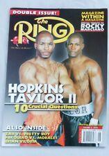 2005 RING Magazine Bernard Hopkins vs. Jermain Taylor