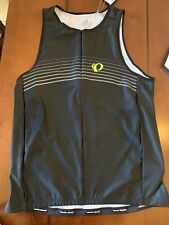 Pearl Izumi Men's Elite Pursuit Tri Singlet, Black Yellow Xxl