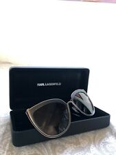 Karl Lagerfeld KL Sunglasses black cat eye KL290