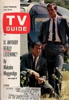 1966 TV Guide July 23 - Peyton Place; Munsters; FBI Stephen Brooks; S Morrison