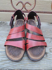Born Kates Gladiator Leather Sandals Women's Size 11 / 43