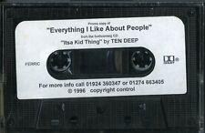 "Ten Deep 1996 ""Itsa Kid Thing' Rare U.K. Heavy-Metal Promotional Cassette"