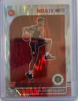 2019-20 Panini Hoops Premium Stock De'Andre Hunter Rookie Silver Flash Prizm