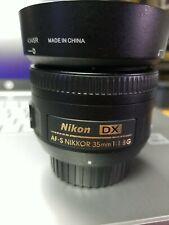 Nikon Nikkor 35 mm F/1.8G AF-S DX Lens