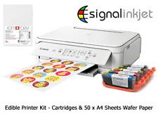 EDIBLE PRINTER BUNDLE TS5051 - Printer + Edible Ink Cartridges + 50 Wafer Paper
