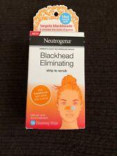 Neutrogena Blackhead Pore Strip to Facial Scrub, Acne Treatment, 14 Strips
