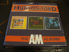 CD Box Set: Hudson Ford : The A&M Albums : 3 CDs Sealed : Strawbs