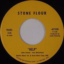 STONE FLOUR: Help / Till We Kissed PRIVATE Funk Rock Beatles HEAR IT