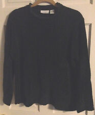 ~Womens Size M Croft & Barrow Dark Green Mock Neck Sweater - So Soft!