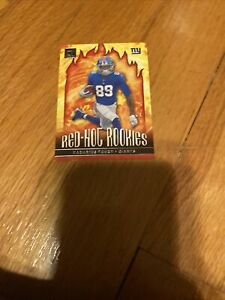 Kadarius Toney Red Hot Rookies Card 2021 Donruss New York Giants RHR-KTO