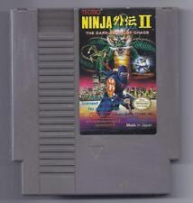 Vintage Nintendo Ninja Gaiden II The Dark Sword of Chaos Video Game NES cart
