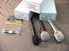 MICROPHONE BUNDLE - 3 VERSATILE MICS + USEFUL AUDIO EXTRAS - PRO QUALITY
