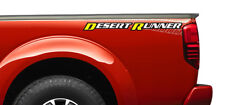 """ONE NEW OEM 2013 NISSAN FRONTIER RIGHT SIDE BED DECAL """"DESERT RUNNER"""" 990989BF1A"""