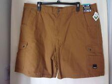 Brand New Diehard Duck Canvas Mens Cargo Shorts Brown Size 48.Work Or Play