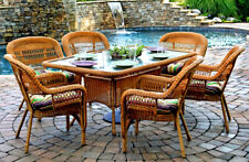 Portside 7 Piece Rectangle Dining Set from Tortuga Outdoor Model PSD66