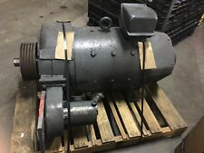 Used Westinghouse 40hp 8502550 Rmp 240v 135 Arm Amp 408 A Frame Dc Motor