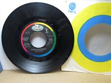 Old 45 RPM Record - Capitol B-5537 - Paul McCartney - Spies Like Us /My Carnival