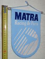 FANION PENNANT WIMPEL FOOTBALL MATRA RACING CLUB DE PARIS 1988