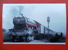 PHOTO  LNER LOCO 4472 FLYING SCOTSMAN LONDON GRESLEY SOCIETY 'LONDON NORTH EASTE
