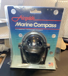 VTG Airguide Marine Compass Model 66-B Original Box W/ Mounting Bracket & Wires