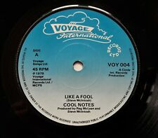 """Cool Notes - Like A Fool / Jah Lovely.. 7"""" Single 1979 1st UK Press VOY 004"""