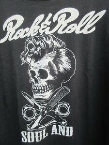Rock 'n' Roll T-Shirt / ideal für Friseur und Barber - Shop oder Rockabilly-Fans