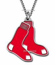 BOSTON RED SOX NECKLACE for MALE or FEMALE - SPORTS BASEBALL - FREE SHIP CB*
