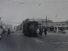 USA055 MARKET STREET RAILWAY Co 1950s TROLLEY PHOTO San Francisco California USA