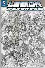 Comic - DC - Legion of Super-Heroes  Nr. 1 - 2012 - VARIANT - Panini Verlag deut