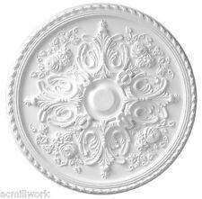 Ceiling Medallion 33 inch Versailles Primed White D582 primed white round large