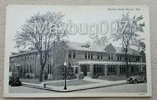 Vintage Postcard of Mayfair Hotel in Searcy, Arkansas