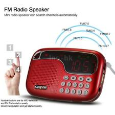 Mini Portatile LCD Digital Car Radio FM Speaker USB TF AUX Mp3 Music Player Z9W1