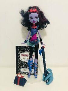 Monster High Jane Boolittle Original Mattel VGC