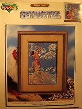 Color Charts Cross Stitch Pattern Chart Skyhunter by Richard Luce 1990