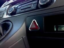 D VW T5 Chrom Rahmen für Schalter Warnblinker - Edelstahl poliert