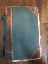 Victorian Autograph Book 700+ items England 1840 church, peers, politics, actors