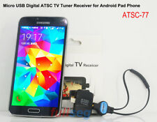 Micro USB ATSC Digital TV Receiver Stick Tuner Watch Live TV Android Phone Pad