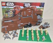 Lego Star Wars 7662 Trade Federation MTT  Droideka 100% Complete manuals Incl.