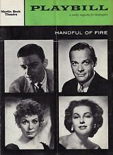 """Roddy McDowall """"HANDFUL OF FIRE"""" Kay Medford / James Daly 1958 FLOP Premiere"""